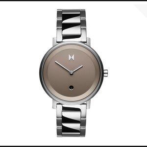 MVMT watch cloud silver women